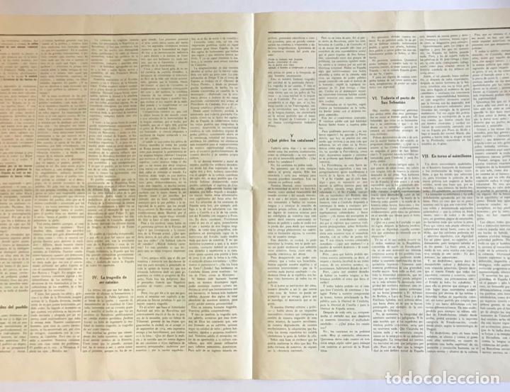 Documentos antiguos: CATALUÑA AL SERVICIO DE LA REPÚBLICA. - CAMPALANS, Rafael. 1931. - Foto 2 - 123170315