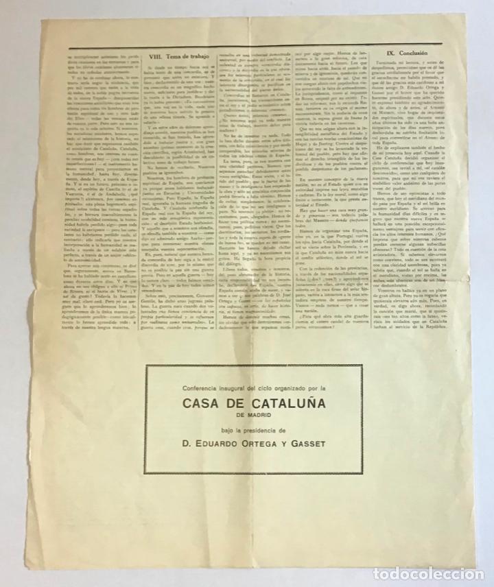 Documentos antiguos: CATALUÑA AL SERVICIO DE LA REPÚBLICA. - CAMPALANS, Rafael. 1931. - Foto 3 - 123170315