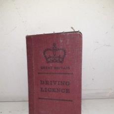 Documentos antiguos: LICENCIA CONDUCIR IRLANDA. Lote 194306160