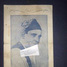 Documentos antiguos: JOSÉ OTO. JOTA. ARAGÓN. TEATRO CALDERÓN, RAZA ARAGONESA. 1953. Lote 194312668