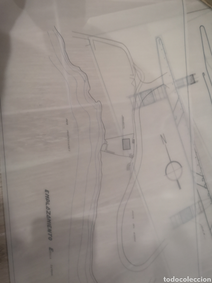 Documentos antiguos: Benidorm. Rincón de Loix. Residencia Lido, lote planos ampliación, 1960, arquitecto. - Foto 3 - 194340113