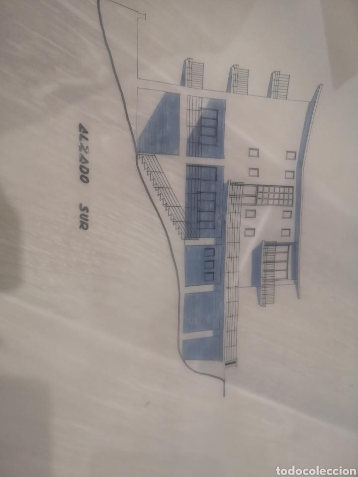 Documentos antiguos: Benidorm. Rincón de Loix. Residencia Lido, lote planos ampliación, 1960, arquitecto. - Foto 4 - 194340113