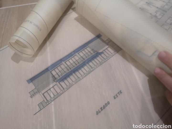 Documentos antiguos: Benidorm. Rincón de Loix. Residencia Lido, lote planos ampliación, 1960, arquitecto. - Foto 6 - 194340113