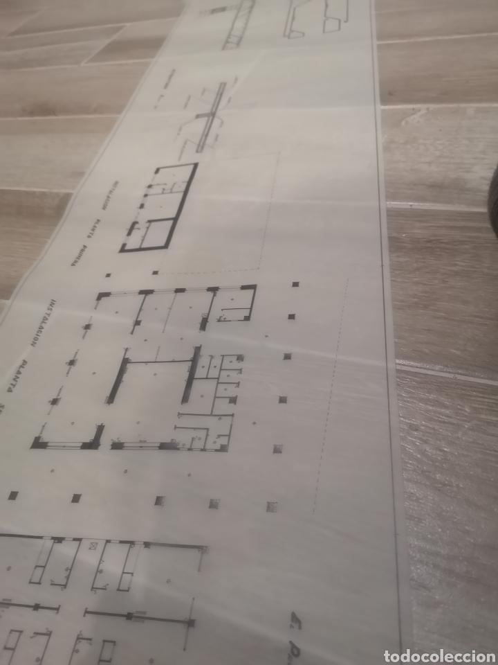 Documentos antiguos: Benidorm. Rincón de Loix. Residencia Lido, lote planos ampliación, 1960, arquitecto. - Foto 10 - 194340113