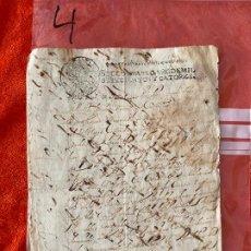 Documentos antiguos: DOCUMENTO DE 1714 , MANUSCRITO EL BORJE , MÁLAGA , ORDEN DE PAGO , GABRIEL FALCON , RIOGORDO. Lote 194488757