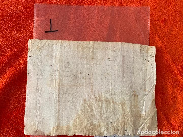 Documentos antiguos: RECIBO DE 1703 , VELEZ MALAGA , MÁLAGA , CONVENTO DE SANTA CLARA MONJA LUCRECIA CARRILLO - Foto 2 - 194489753