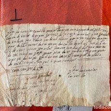 Documentos antiguos: RECIBO DE 1703 , VELEZ MALAGA , MÁLAGA , CONVENTO DE SANTA CLARA MONJA LUCRECIA CARRILLO. Lote 194489753