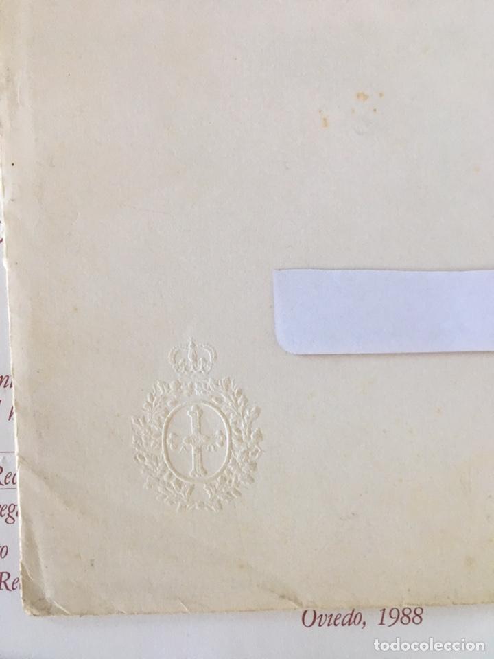 Documentos antiguos: INVITACIÓN DE SU ALTEZA REAL DON FELIPE DE BORBON ALOS PREMIOS PRINCIPE DE ASTURIAS 1988 - Foto 3 - 194494507