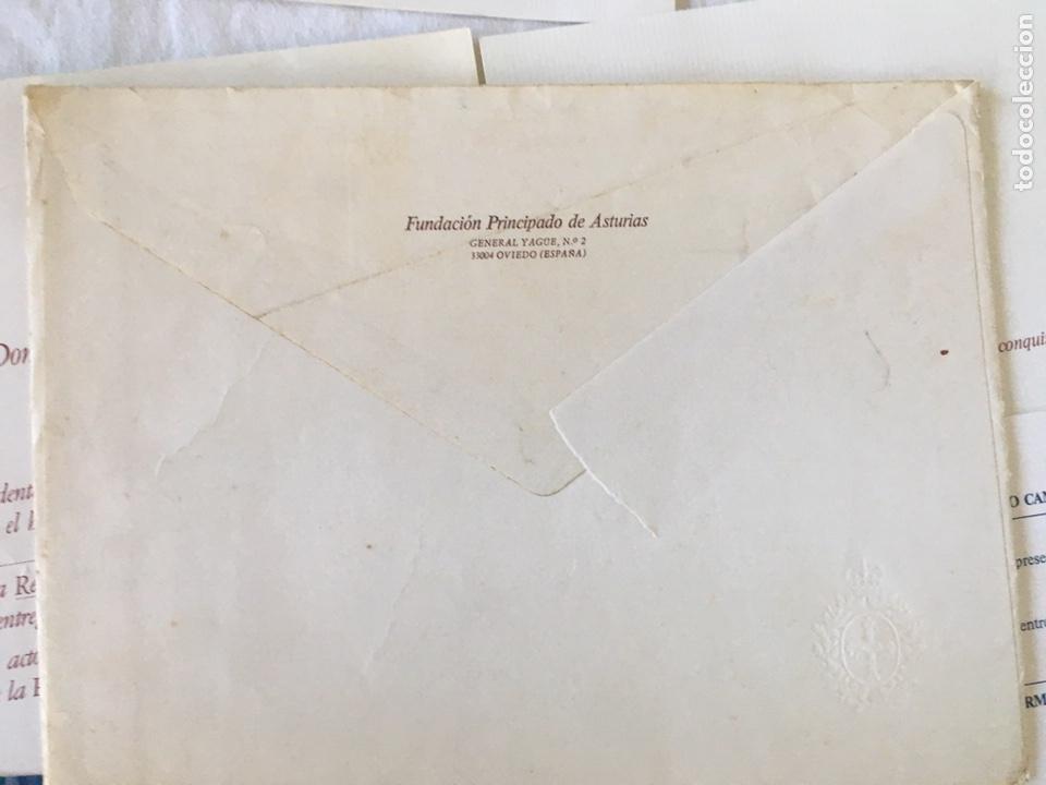 Documentos antiguos: INVITACIÓN DE SU ALTEZA REAL DON FELIPE DE BORBON ALOS PREMIOS PRINCIPE DE ASTURIAS 1988 - Foto 5 - 194494507