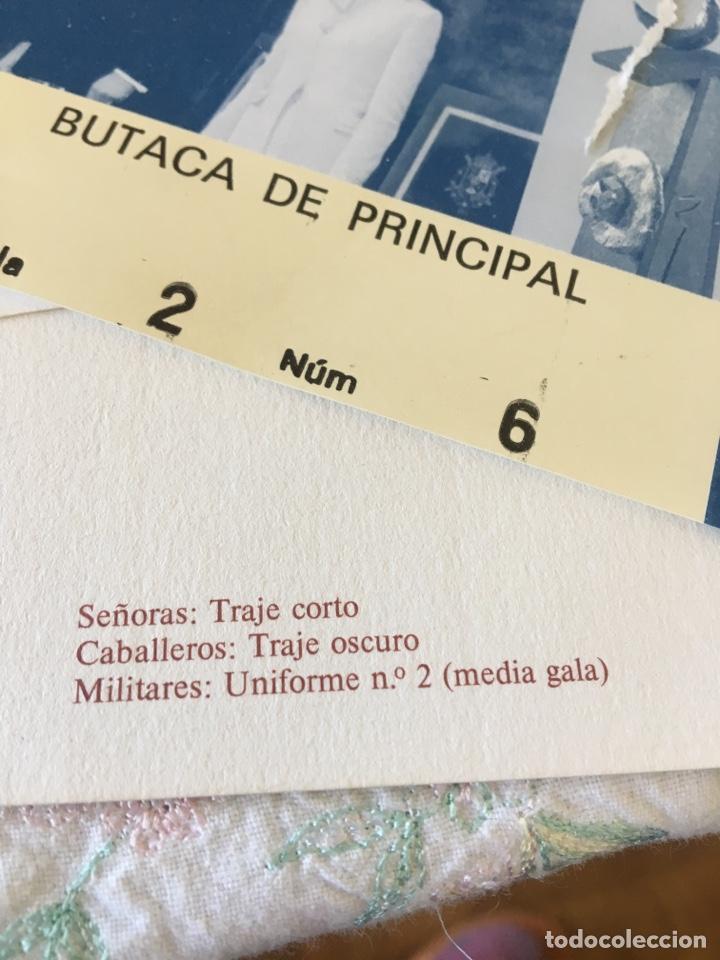 Documentos antiguos: INVITACIÓN DE SU ALTEZA REAL DON FELIPE DE BORBON ALOS PREMIOS PRINCIPE DE ASTURIAS 1988 - Foto 16 - 194494507