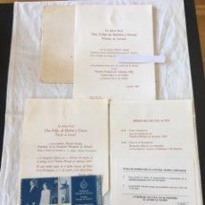 Documentos antiguos: INVITACIÓN DE SU ALTEZA REAL DON FELIPE DE BORBON ALOS PREMIOS PRINCIPE DE ASTURIAS 1988. Lote 194494507