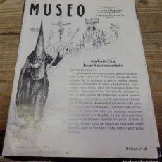 Documentos antiguos: SEMANA SANTA SEVILLA, 1982, BOLETIN NUM. 48 HERMANDAD DEL MUSEO. Lote 194519207
