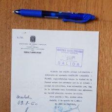 Documentos antiguos: DOCUMENTO DE AÑO 1960 DEL MINISTERIO DE OBRAS PUBLICAS. Lote 194642223