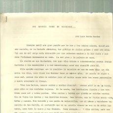 Documentos antiguos: 3923.- JOSE ANTONIO -FALANGE ESPAÑOLA - LUYS SANTA MARINA - HACIA JOSE ANTONIO?. Lote 194703381
