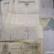 Documentos antiguos: EIBAR, GURUCETA HERMANOS - 1934 DEMANDA A COMERCIANTE DE VIGO POR IMPAGO, 4 CARTAS + 8 ANEXOS + INFO. Lote 194880231