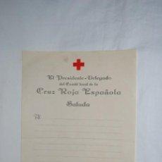 Documentos antiguos: PRESIDENTE - DELEGADO DE LA CRUZ ROJA. 193....... Lote 194891562