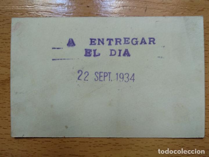 Documentos antiguos: VALE ESCUELAS CATOLICAS DE OBREROSY COMERCIANTES ZRAGOZA. CURSO 1934 1935. - Foto 2 - 194896955
