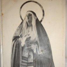 Documentos antiguos: NUESTRA SEÑORA DE LOS DOLORES PARROQUIA SANTA CRUZ SEVILLA 1926. 26X10. Lote 195162817