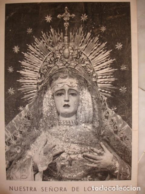 NUESTRA SEÑORA DELOS ANGELES VULGO NEGRITOS CRISTO DE LA FUNDACION SEVILLA (Coleccionismo - Documentos - Otros documentos)