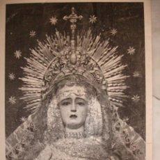 Documentos antiguos: NUESTRA SEÑORA DELOS ANGELES VULGO NEGRITOS CRISTO DE LA FUNDACION SEVILLA . Lote 195163240