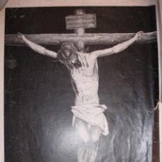 Documentos antiguos: CRISTO DE LA FUNDACION LOS NEGRITOS SEVILLA COPLA ROMERO MARTIN 24X18 AÑOS 30. Lote 195163488