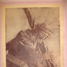 Documentos antiguos: NUESTRO PADRE JESUS DE LA PASION Y NUESTRA MADRE DE LA MERCED SEVILLA 1923 CULTOS 22X17. Lote 195164046