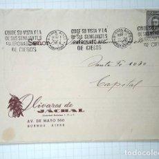 Documentos antiguos: JÁCHAL, PROVINCIA DE SAN JUAN, REPÚBLICA ARGENTINA. PROMOCIÓN OLIVARES DE JÁCHAL, 1943. Lote 195167360