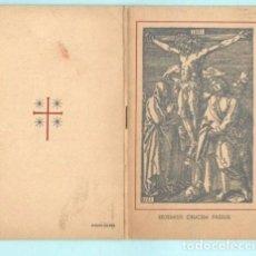Documentos antiguos: RECORDATORIO DE FALLECIMIENTO DE MISSA EL AÑO 1967 BARCELONA. Lote 195194913