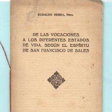 Documentos antiguos: CULTURA RELIGIOSA DEL AÑO 1953. Lote 195195311