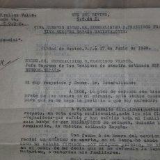 Documentos antiguos: LOTE DOCUMENTOS FAMILARIES. Lote 195197062