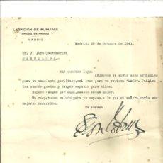Documentos antiguos: 579.-RUMANIA -ARTICULOS A PUBLICAR EN LA REVISTA AZOR-AÑO 1943-REINA MARIA DE RUMANIA-PANFIL SEICARU. Lote 195205997