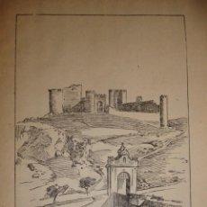 Documentos antiguos: CASTILLO DE SAN SERVANDO TOLEDO CON UNA PEQUEÑA HISTORIA DEL CASTILLO. Lote 195253265
