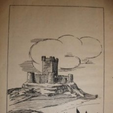 Documentos antiguos: CASTILLO DE MONLEON SALAMANCA CON UNA PEQUEÑA HISTORIA DEL CASTILLO. Lote 195253403