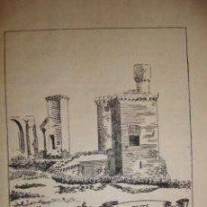 Documentos antiguos: CASTILLO DE OLITE NAVARRA CON UNA PEQUEÑA HISTORIA DEL CASTILLO. Lote 195253418