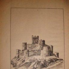 Documentos antiguos: CASTILLO DE MAGACELA BADAJOZ CON UNA PEQUEÑA HISTORIA DEL CASTILLO. Lote 195253493