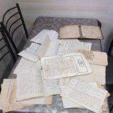 Documentos antiguos: LOTE 41 DOCUMENTOS DE TRANSACCIONES/SUBASTAS\PAGARES BULAS FINALES 1700 Y 1800. Lote 195265912
