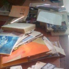 Documentos antiguos: LOTE DE CIENTOS DE DOCUMENTOS Y VARIOS KILOS DE PESO (FACTURAS, LIBROS, DOCUMENTOS, FOLLETOS, ETC.... Lote 195313738