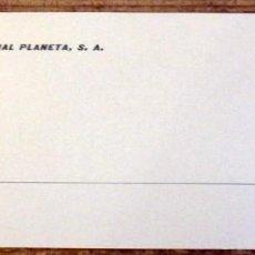 Documentos antiguos: SEVILLA, 1969, INVITACION PRESENTACION LIBRO I PREMIO ATENEO DE SEVILLA, MANUEL POMBO. Lote 195326108