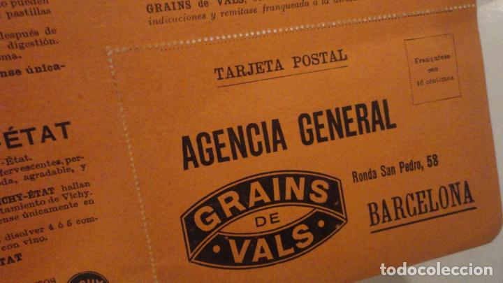 Documentos antiguos: ANTIGUO VALE GRATUITO. GRAINS DE VALS.ESTREÑIMIENTO. VICHY-ETAT PRINCIPIOS DEL XX. - Foto 3 - 195330866