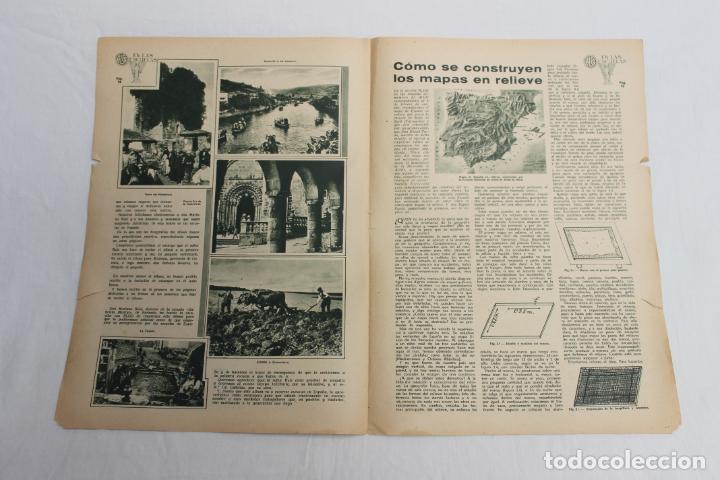 Documentos antiguos: EN LAS ESCUELAS, LS BELLEZAS DE GALICIA, 1936 UNA INICIATIVA ESCUELA GABRIELA MISTRAL - Foto 2 - 195385275