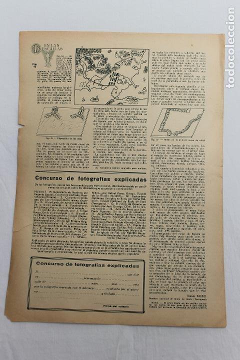 Documentos antiguos: EN LAS ESCUELAS, LS BELLEZAS DE GALICIA, 1936 UNA INICIATIVA ESCUELA GABRIELA MISTRAL - Foto 3 - 195385275