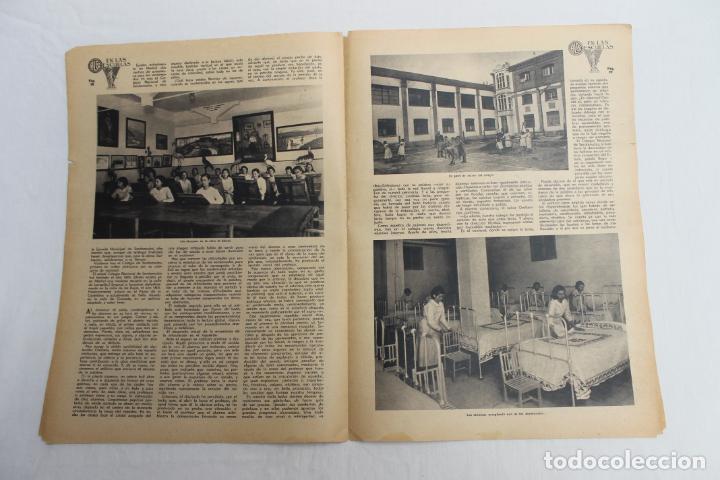 Documentos antiguos: EN LAS ESCUELAS, LOS MUDOS HABLAN, UNA VISITA A LA ESCUELA NACIONAL DE SORDOMUDOS 1936 - Foto 2 - 195386265