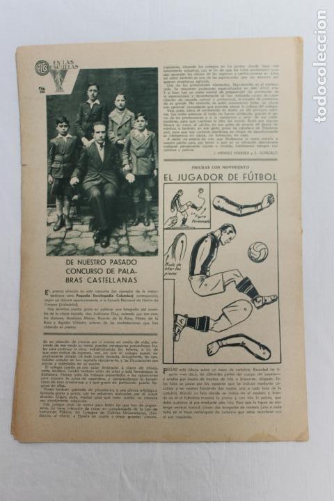 Documentos antiguos: EN LAS ESCUELAS, LOS MUDOS HABLAN, UNA VISITA A LA ESCUELA NACIONAL DE SORDOMUDOS 1936 - Foto 3 - 195386265
