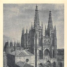 Documentos antiguos: CATEDRAL DE BURGOS.- VISITA DE CAPILLAS, TESORO Y MUSEO- 2 PESETAS. Lote 195457647