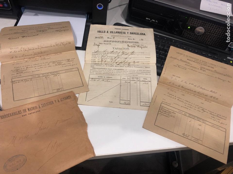 COMPAÑIA DE LOS FERROCARRILES DE MADRID A ZARAGOZA Y A ALICANTE (Coleccionismo - Documentos - Otros documentos)