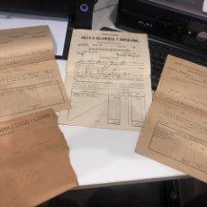 Documentos antiguos: COMPAÑIA DE LOS FERROCARRILES DE MADRID A ZARAGOZA Y A ALICANTE. Lote 195775725