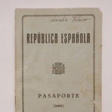 Documentos antiguos: PASAPORTE DE REPUBLICA ESPAÑOLA 1934, PASSPORT PASSEPORT,REISEPASS. Lote 195920333