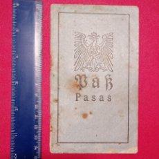 Documentos antiguos: PASAPORTE DE LITUANIA 1917, PASSPORT, PASSEPORT,REISEPASS. Lote 196025208