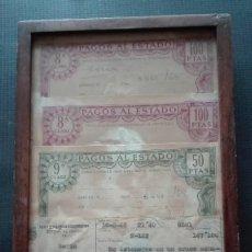 Documentos antiguos: MULTA TRAFICO CON PAGOS AL ESTADO. Lote 196356786