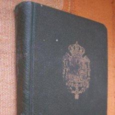 Documentos antiguos: SOCIEDAD DE MADRID 1931: FAMILIA REAL, C.DIPLOMÁTICO, TÍTULOS NOBILIARIOS.IMP. EDITORIAL PALOMEQUE.. Lote 196911295
